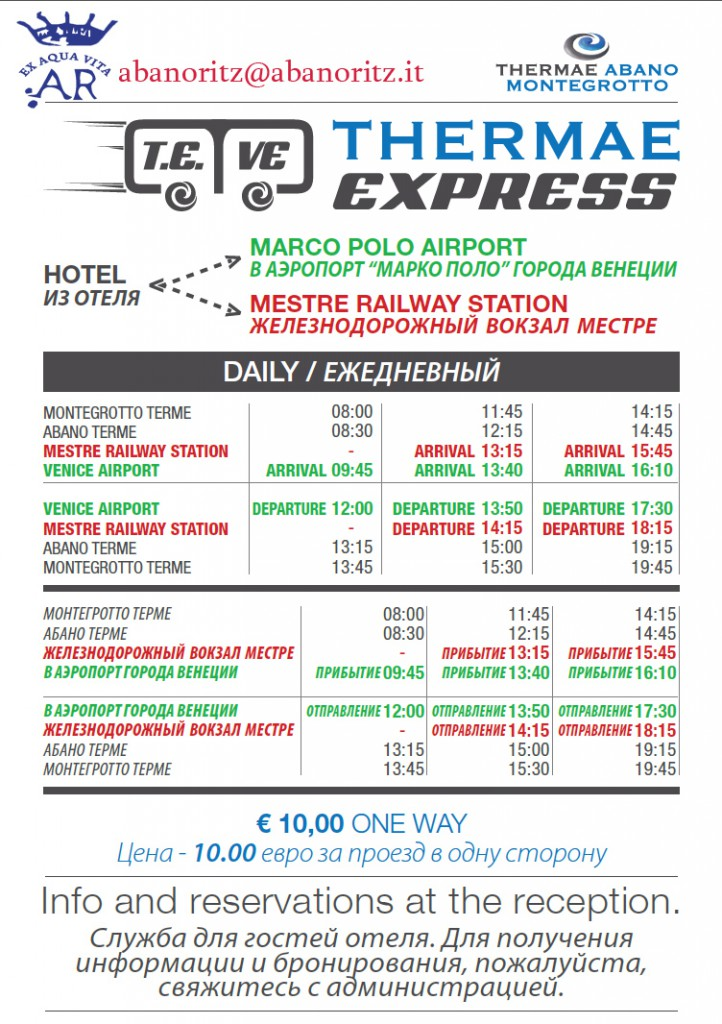 thermae express abanoritz russo