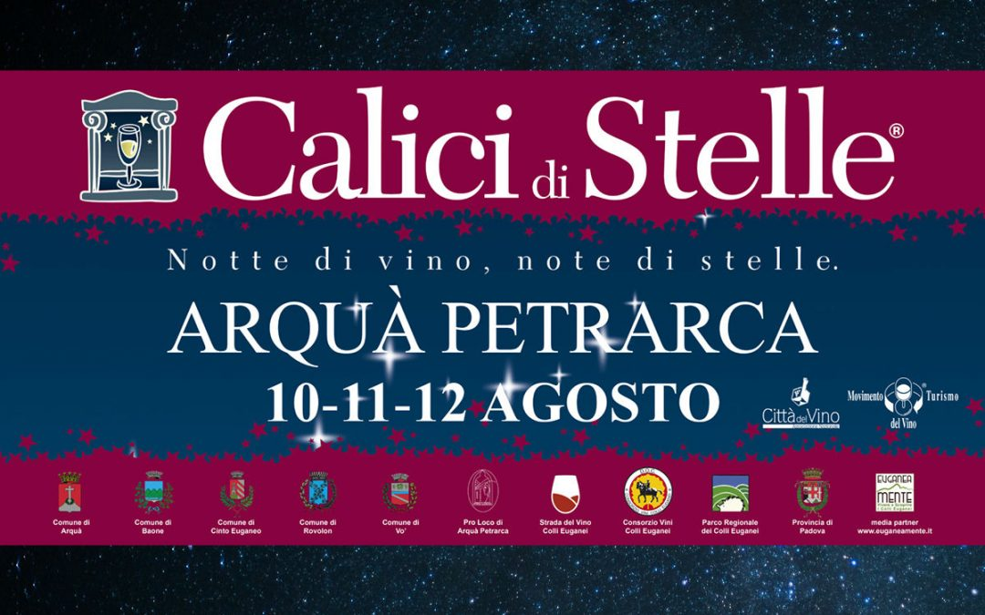 Wine tastings under the stars at Arquà Petrarca