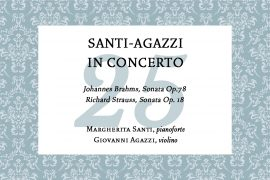 Santi – Agazzi in concert – Concerto per The Colors of Music in the World