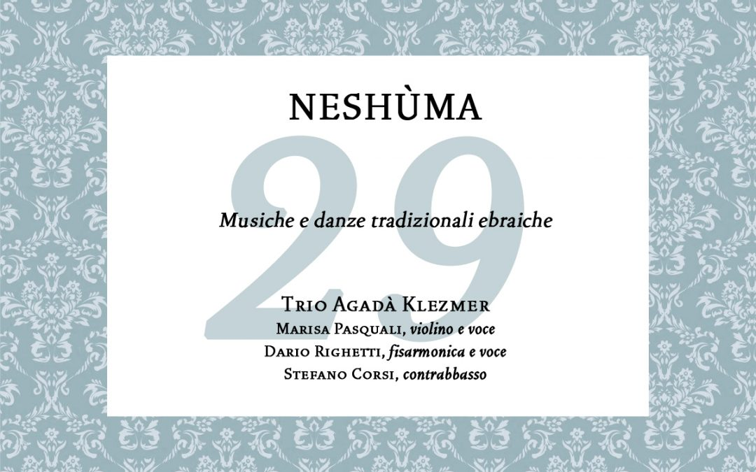 "Neshùma – Concerto per ""The Colors of Music in the World"""