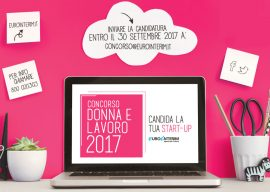 The winners of the Competition Women and Work Startup 2017