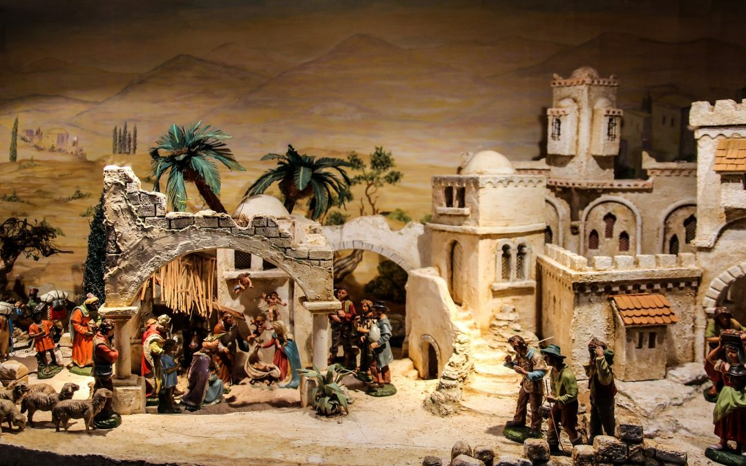 Artistic nativity scenes in Monteortone and on the Euganean Hills