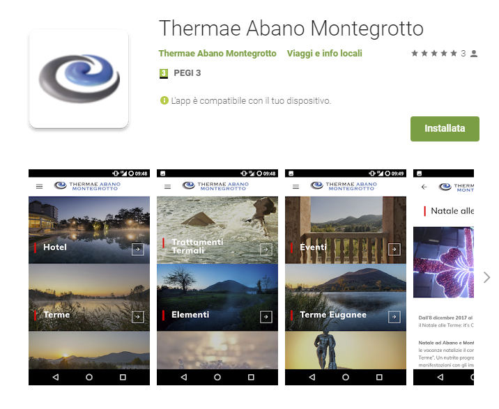 Thermae Abano Montegrotto: the new APP for AbanoRITZ