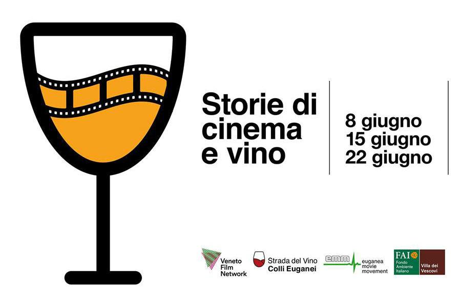 cinema, vino, colli euganei, villa dei vescovi, strada del vino dei colli euganei