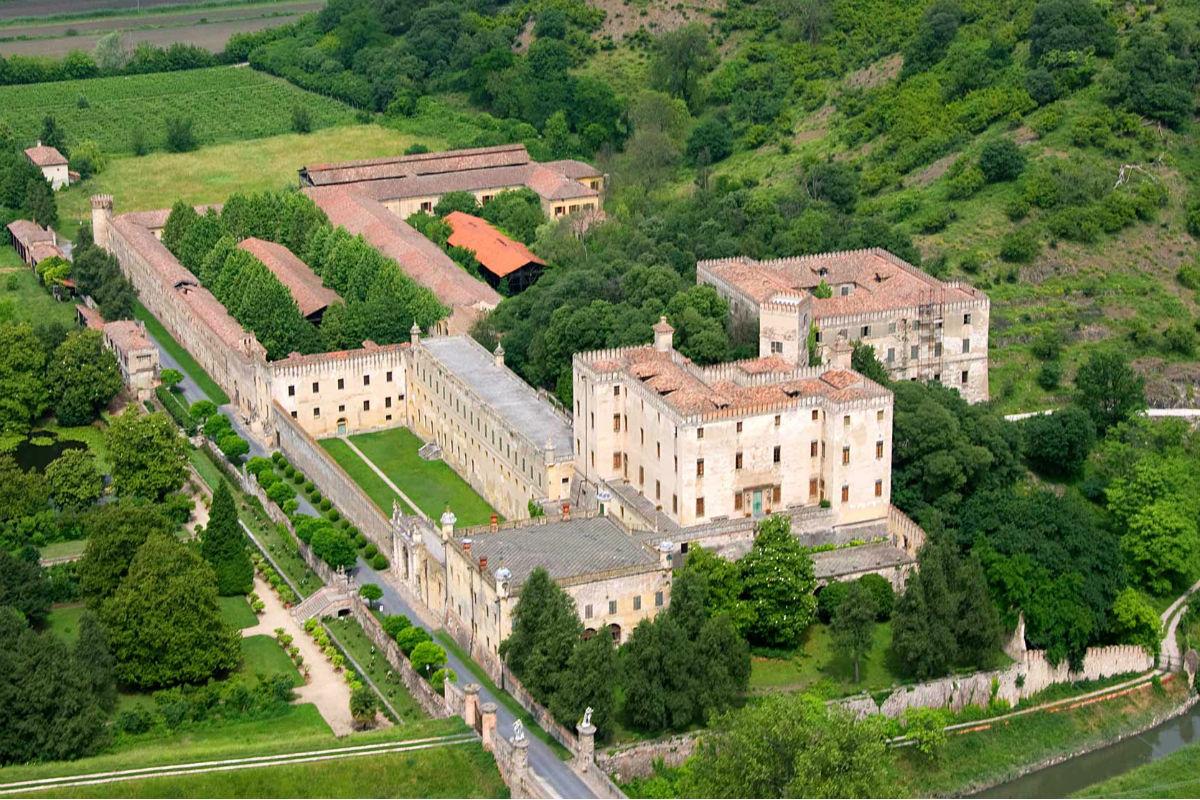castello del catajo, colli euganei, beni culturali