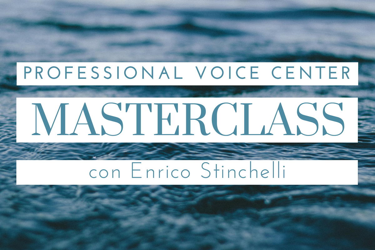 masterclass, musica, canto, opera, musica classica, stinchelli